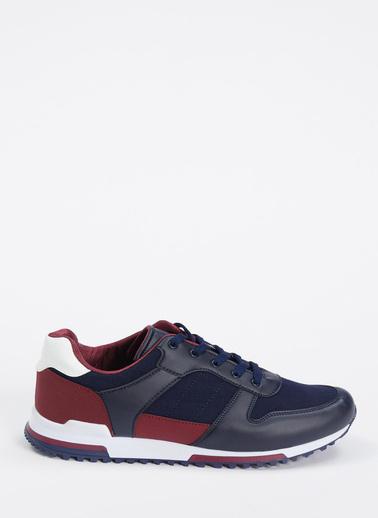 DeFacto Bağcıklı Sneaker Spor Ayakkabı Lacivert